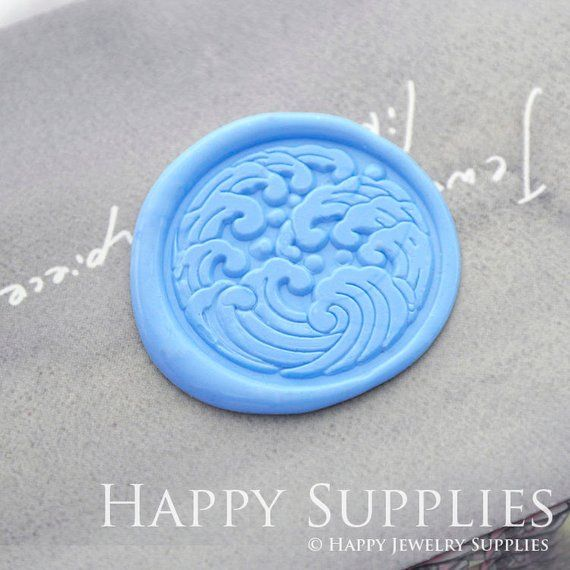 childhood memory Geometric Bear Origami Wax Seal Stamp