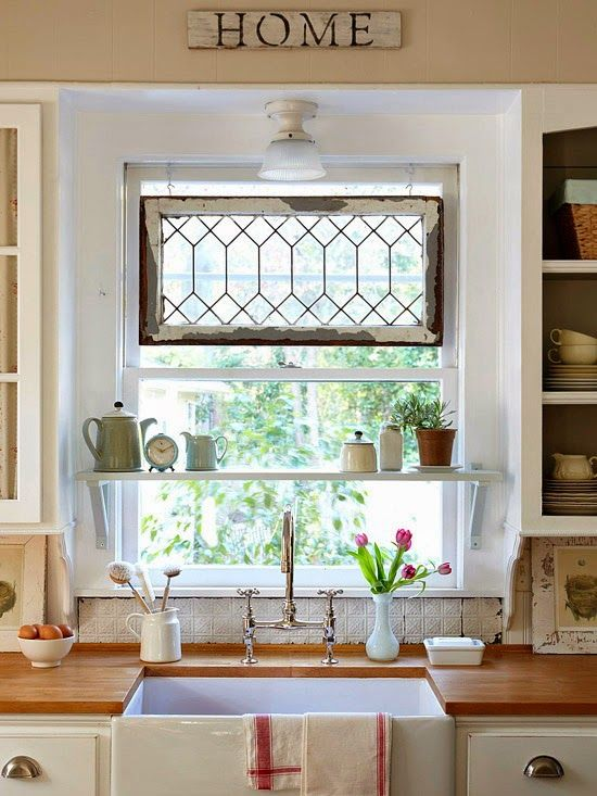 17+ Ideas About Kitchen Window Decor On Pinterest | Kitchen Sink