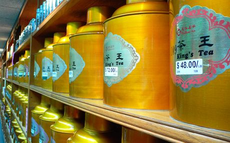 ten ren tea shop