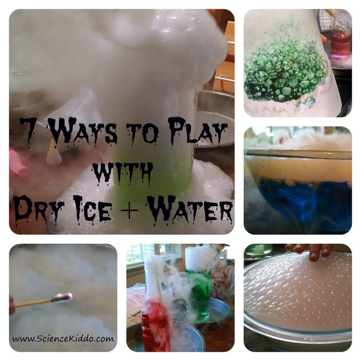how to make dry ice at home with salt