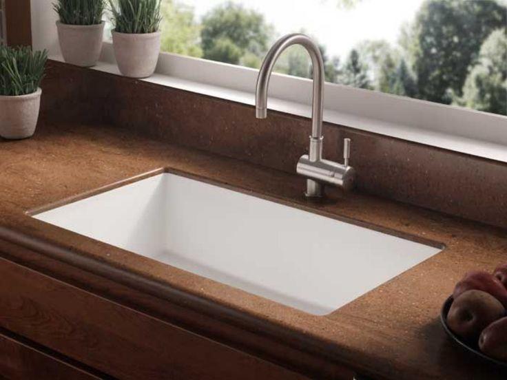 Corian Undermount Kitchen Sink  Kitchen  Pinterest  Sinks Magnificent Undermount Kitchen Sink 2018