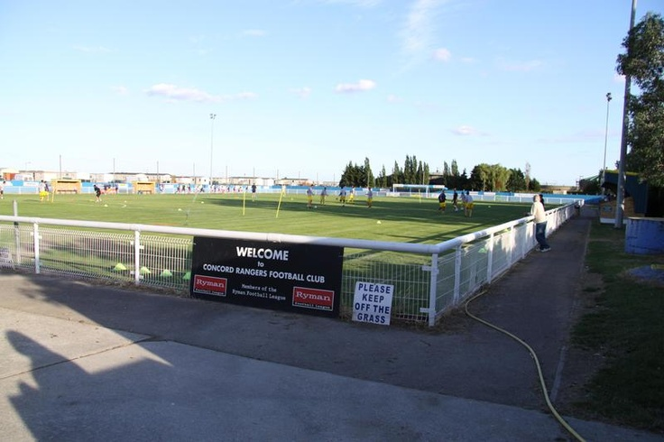 Thames Road - Home of Concord Rangers