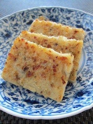 蘿蔔糕~大根餅再び :美味生活:So-netブログ 蘿蔔糕♪(ルォーボーガオ~大根餅) 大根餅リターンズw