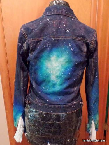 Nebula Jean Jacket - CLOTHING | Clothing Upcycle/Repurpose ...