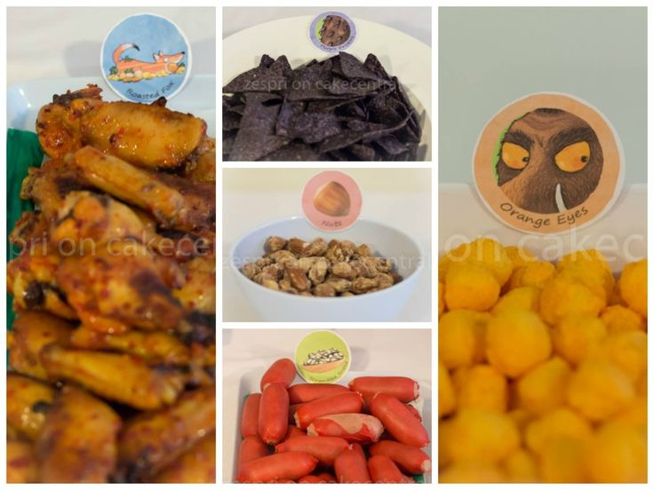 gruffalo finger food - Google Search