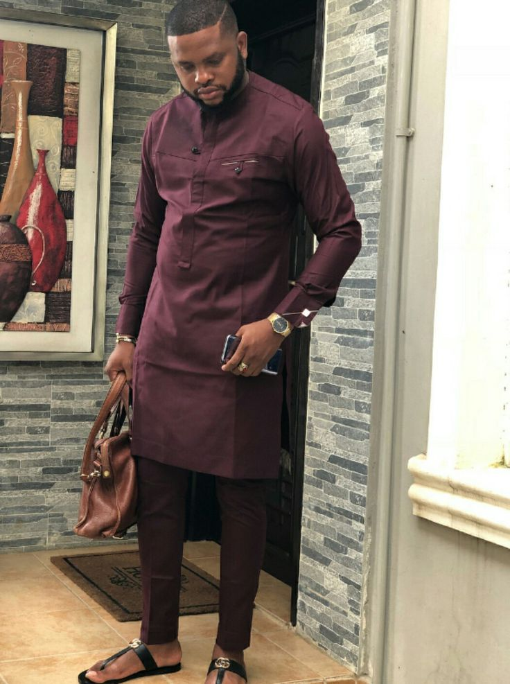 Pin By Udenyi Patrick On Men Native Styles African Shirts For Men Nigerian Men Fashion African Dresses Men
