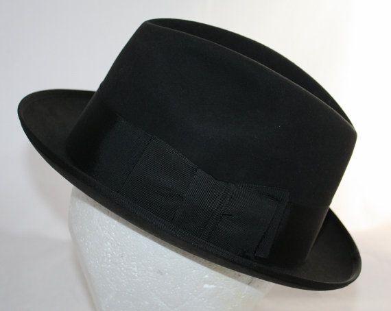 Vintage Stetson Fedora Hat Royal Stetson by ilovevintagestuff