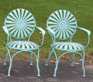 Grandma had several  of these chairs in the back garden