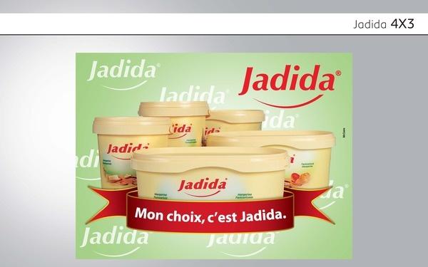 campagne beurre Jadida agence McCann Erickson Dakar D.A. junior Ismaila Diallo, via Behance