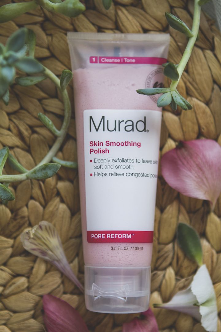 Murad skincare - Skin smoothing polish review | TLV Birdie Blog