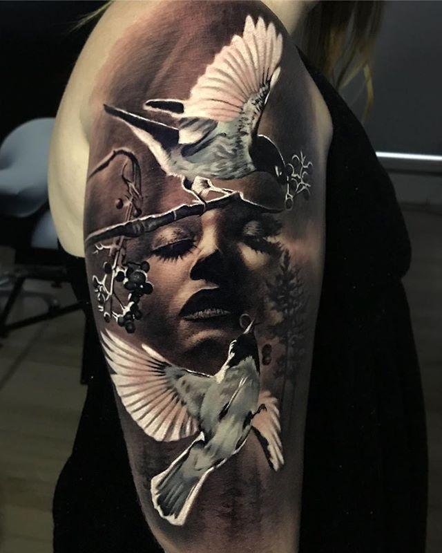 How To Choose A Tattoo Artist Tatuirovki Na Temu Prirody Tatuirovochnye Kraski Portretnye Tatuirovki