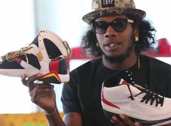 "Trinidad James Launches ""Camp James"" Sneaker Show on YouTube - SneakerNews.com"