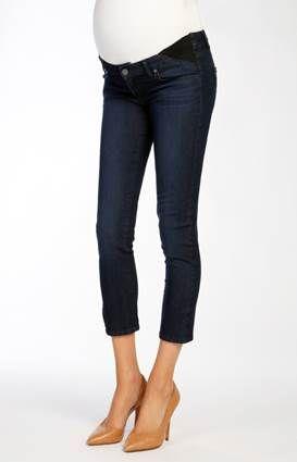 Kylie Crop/Alexis Designer Maternity Jeans by @Paige Denim - Ella Bella Maternity Boutique
