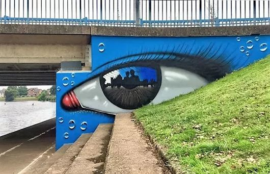 Street Art by My Dog Sighs found in Exeter, UK