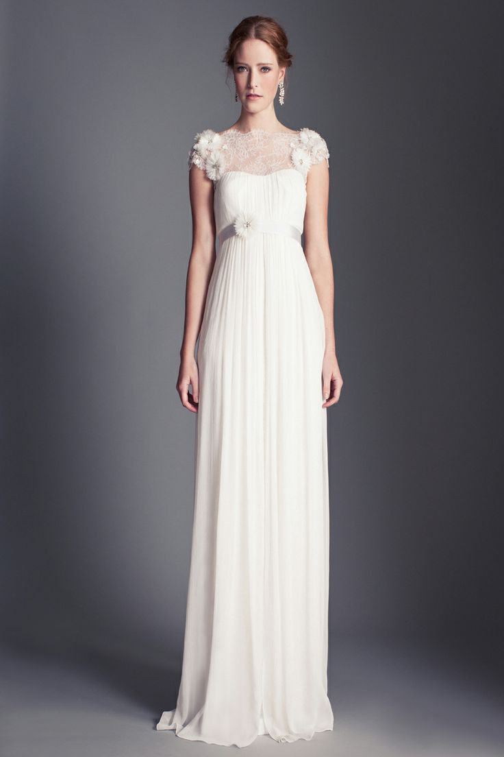 270 best images about outdoor wedding dresses for the for Temperley wedding dress sample sale