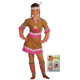 Costume con Trucco da Indiana per bambina da 8-10 anni http://www.eccolafesta.it/costume-con-trucco-indiana-8-10-anni.html