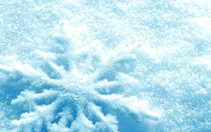 Zima, Śnieg, Gwiazdka