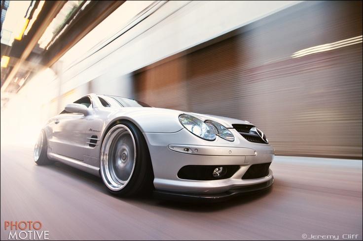 Mercedes SL55 AMG by Jeremy  Cliff, via 500px
