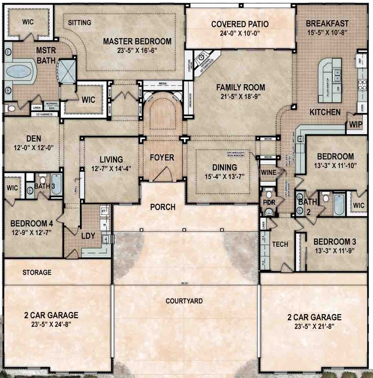 11 best floor plans images on pinterest | house floor plans