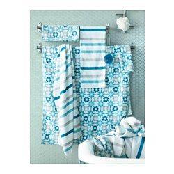 KVARNÅN Badlaken - 100x150 cm - IKEA, vult het kleurenpallet in de badkamer mooi aan