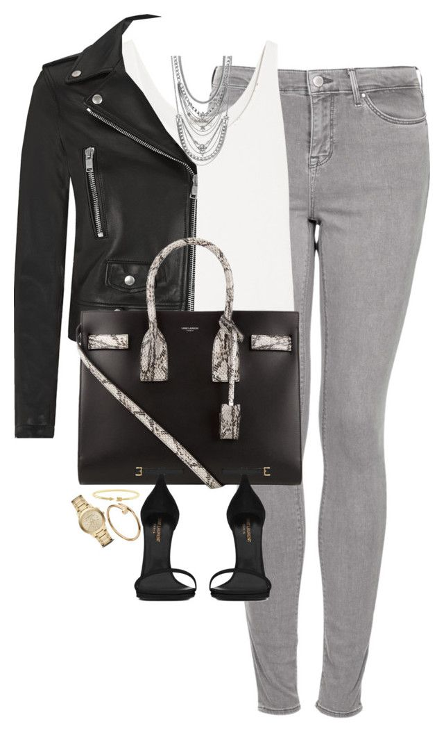 """Untitled #1145"" by lovetaytay ❤ liked on Polyvore featuring Topshop, Totême, Yves Saint Laurent, BCBGeneration, C. Wonder and Burberry"