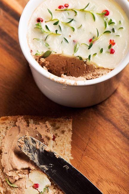Pork Liver Pate - Pate de ficat de porc cu vin și smântână