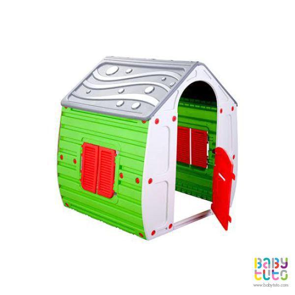 Casa plástico mágica, $99.990 (precio referencial). Marca Kidscool: http://bit.ly/1IhRk0P