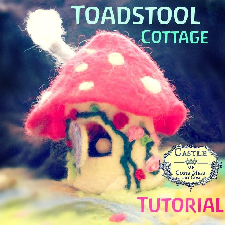 2013. Over spring break, I taught my 8 year old daughter to make her first felted toadstool cottage. It was an enjoyable bonding experience with my child. This is the Speed and Ease Version There ...
