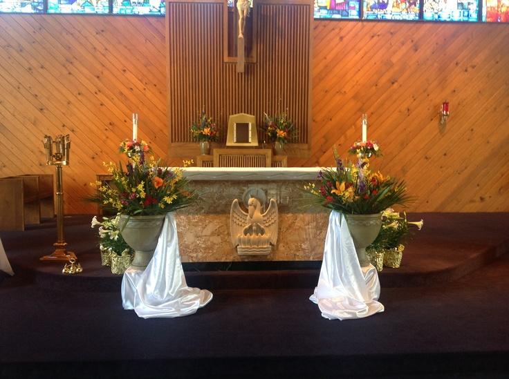 Easter Sunday Decor Through The Catholic Liturgical