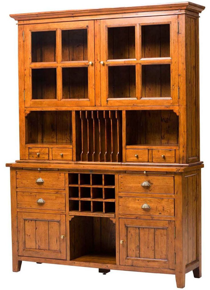 Elephant Furniture Bakersfield Wine Rack Buffet With 4 Drawers And 2 Bottom Doors With 2