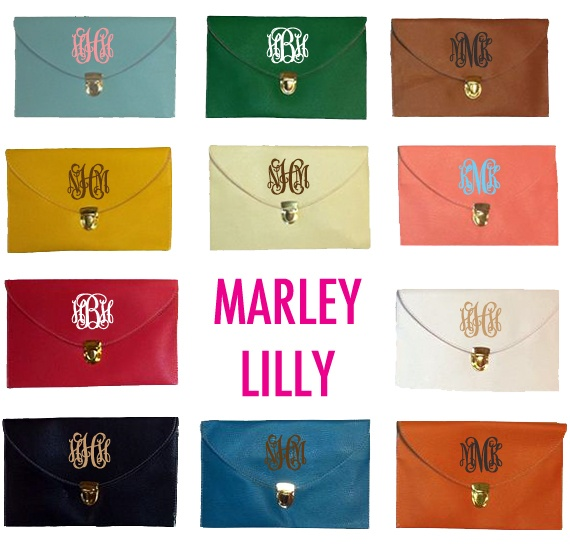 The Monogrammed Life: Black Purses, Clothing Accessories, Bridesmaid Clutches, Clothing Shoes Acessori, Bridesmaid Gifts, Marleylilli Monograms, Monograms Clutches, Luxe Clutches, Crosses Body Clutches
