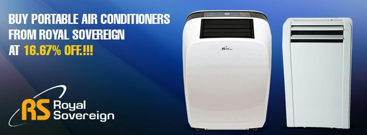 Beat the heat of this #summer with #Portable #AirConditioners from #RoyalSovereign at lesser price.