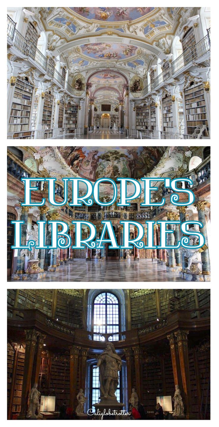 Some of Europe's MOST breathtaking libraries! - California Globetrotter