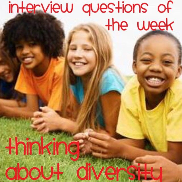 """The world is """"shrinking"""" and school districts are serving more minorities and immigrant populations than ever.  Be prepared to discuss your experience working with children not born in the U.S. and those of diverse ethnic groups. Here are some questions to consider:   - Like our instagram posts?  Please follow us there at instagram.com/pediastaff    - - click on pin for more!"""