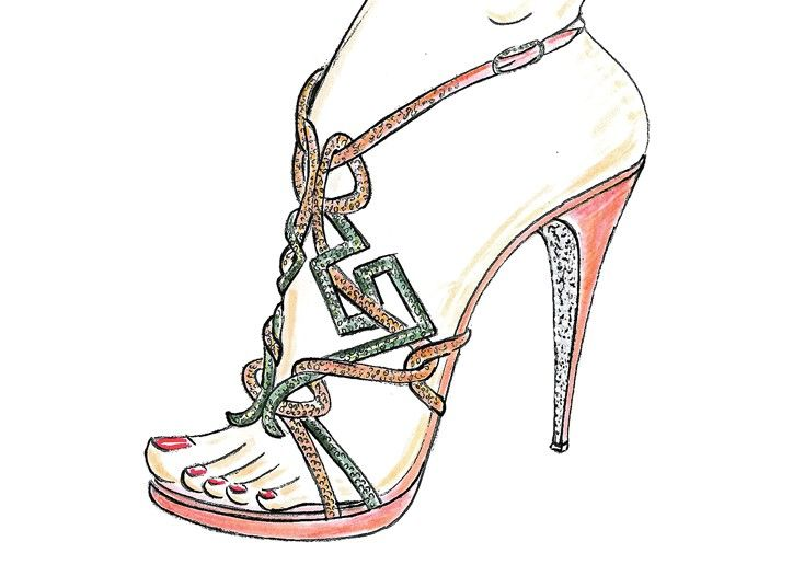 fashion sketches shoes wwwimgkidcom the image kid