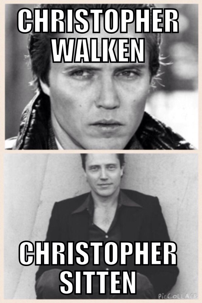 Christopher Walken meme.