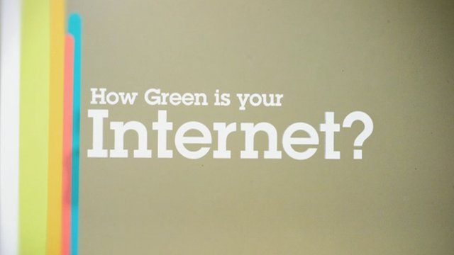 How Green Is Your Internet? by Patrick Clair. When you use the internet have you thought just how much energy you're using? This story may give you some idea of just how much energy the wired world sucks down.