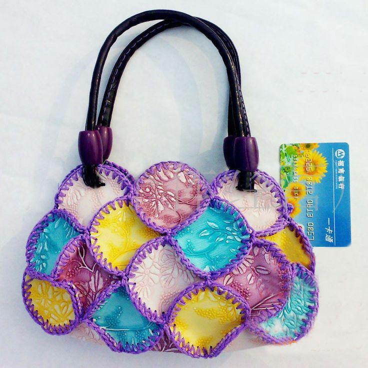 Women messenger bag national hand-made craft women handbag with Chinese characteristics to send supplements  $5.28