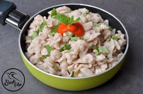 Szafi Free kalóriaszegény nokedli (gluténmentes, tojásmentes, tejmentes, olajmentes, HCLF vegán)