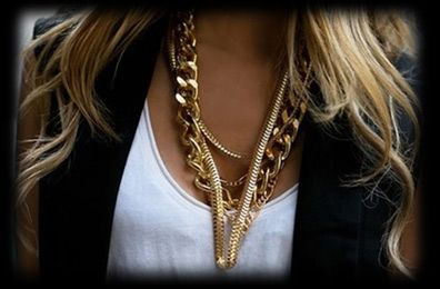 ACCESSORISE WITH GOLD.
