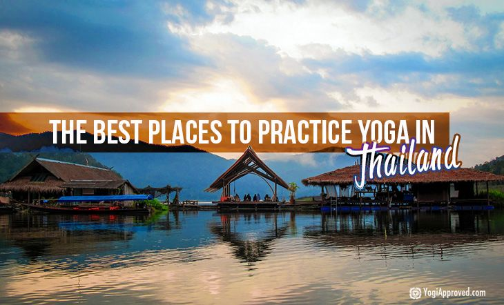 The Best Places to Practice Yoga in Thailand Just picture it: a fresh coconut – maybe even a cocktail – following that grueling but memorable yoga class with a view of majestic limestone crags