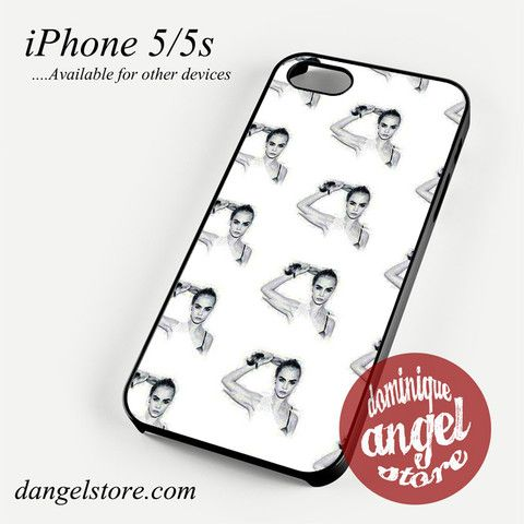 More Cara Delevingne Phone Case for iPhone 4/4s/5/5c/5s/6/6s/6 Plus