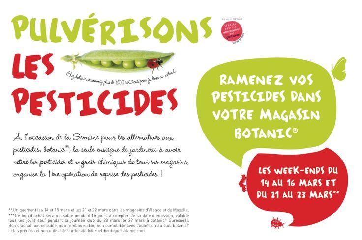 Pulvérisons les pesticides !