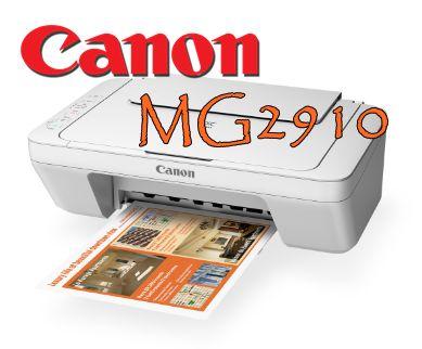 Canon PIXMA MG2910 Driver Download