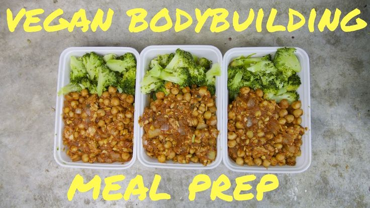 VEGAN BODYBUILDING MEAL PREP ON A BUDGET /tempeh