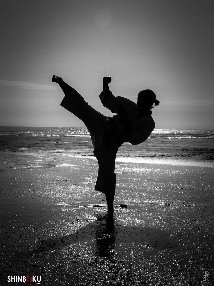 Karate Girl by Kimon Frousios
