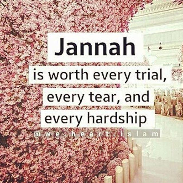 Ameen ❤️ may we all make it to Jannah •