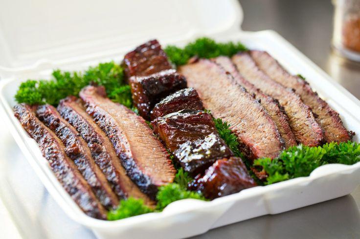 #Sonny's #BBQ #Team brisket box in the Praise the Lard Murphysboro BBQ Cook-off #Pitmasters #WinningTeam #SonnysBBQ