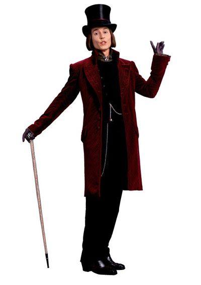 Jonny Depp as Willy Wonka