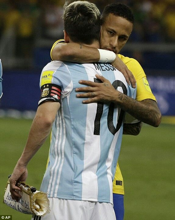 The Master LM10 and The Student njr10 #WorldCupQualifier